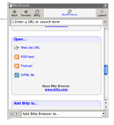 bitty browser